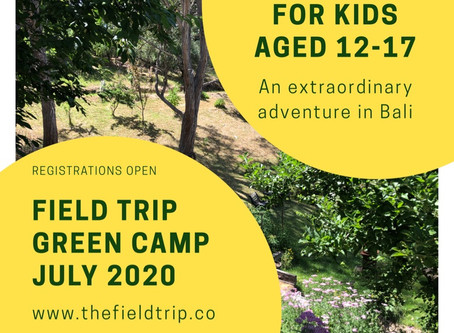 Field Trip Green Camp 2020