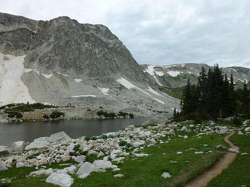 Mountains near Laramie