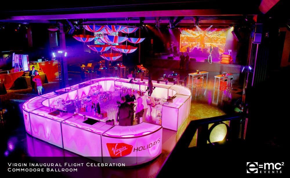 Virgin Inaugural Flight Celebration