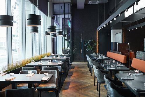 Restaurantes - Flujo de Clientes 1000