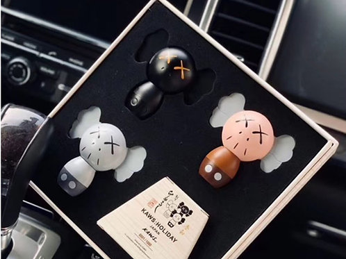 #4 Kaws Car Diffuser/Car Perfume/Air freshener/ Set of 3