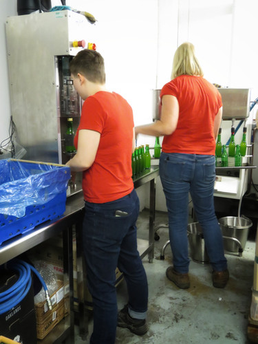 Bottle filling and capping