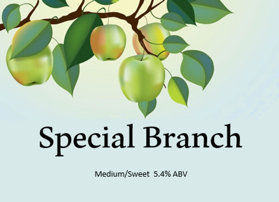Special Branch (Medium/Sweet) 5.4% ABV