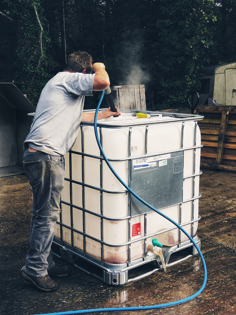IBC cleaning