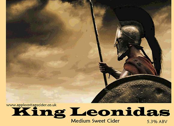 King Leonidas (Medium sweet) 5.3% ABV