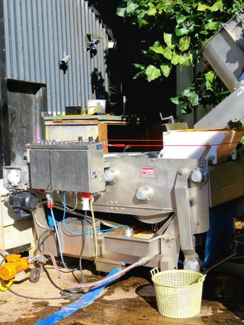 Machinery set up