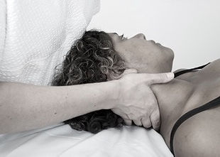 Assesment for cervical spine injury at The Tides Osteopathic Clinic Swansea