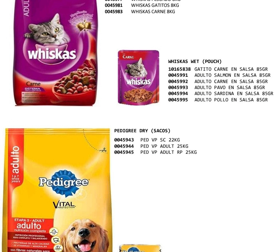 PEDIGREE-WHISKAS