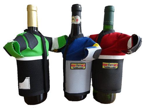Schiessjacke für Weinflasche