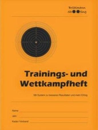 Trainings- und Wettkampfheft