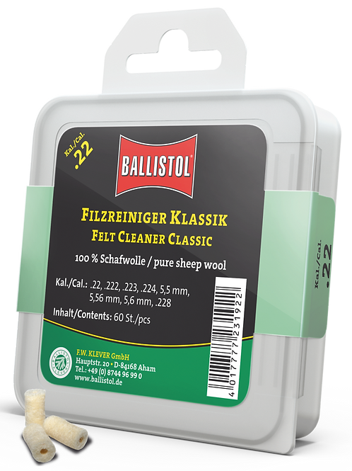 Ballistol Filzreiniger Kal. 22