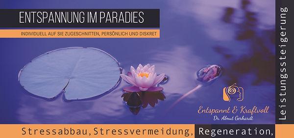 Entspannung Stress Wellness