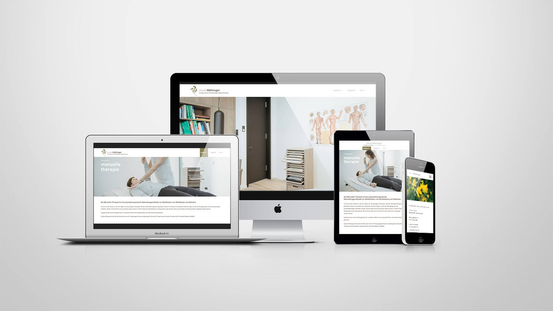 Claudia Röthinger Webdesign