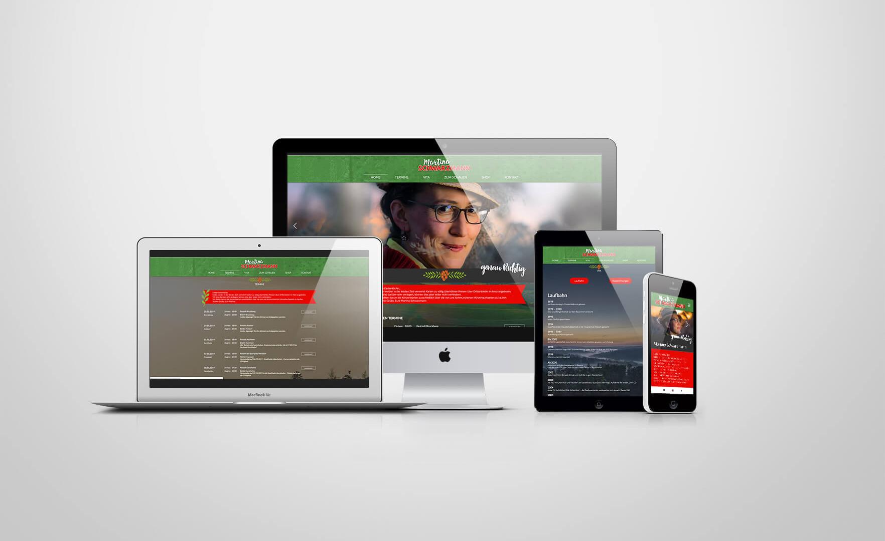 Martina Schwarzmann Webdesign