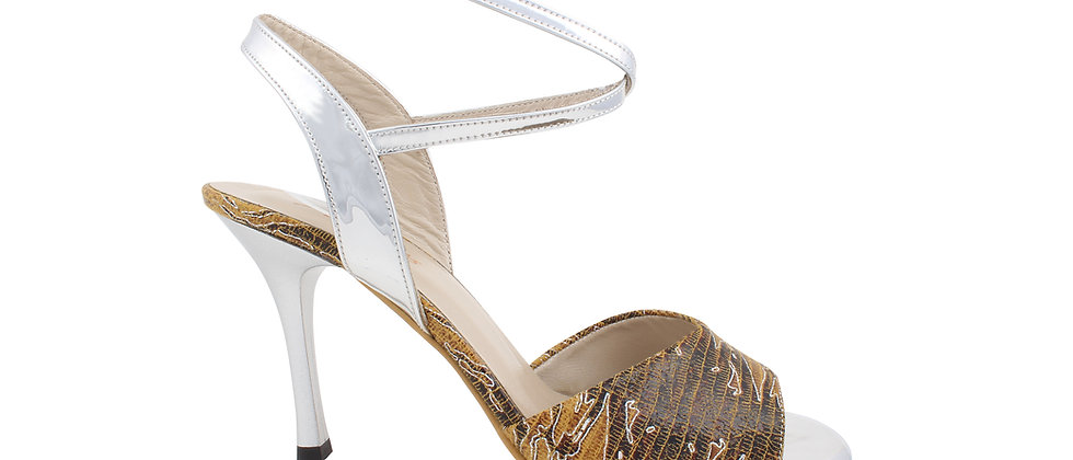 Desert Fire with Silver Ankle