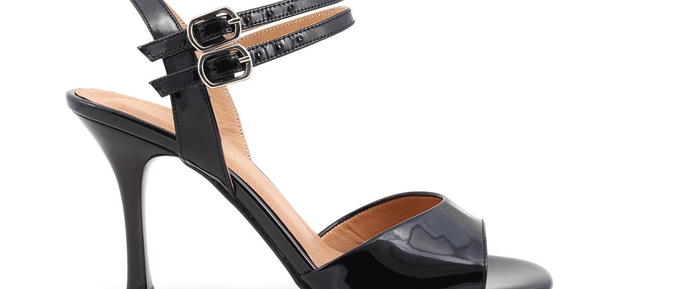Black with Double Line Ankle