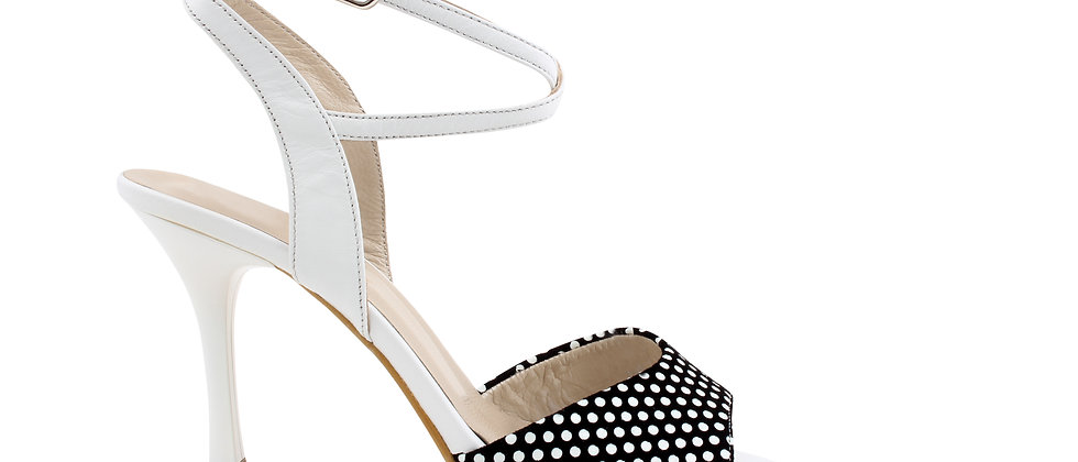 Dots with White Ankle