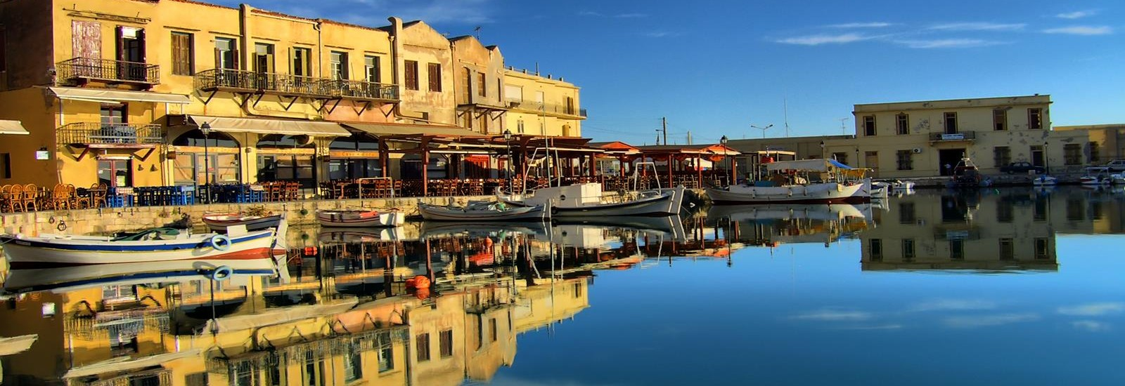 Old port Rethymnon