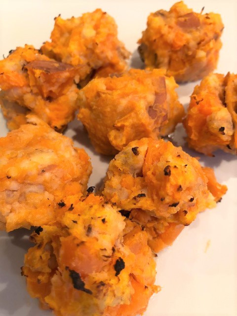 Fishy Sweet Potato Balls
