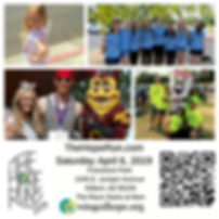 The Hope Run 2019 images with qr code.pn