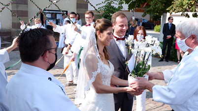 Hochzeitsglocken im JSC