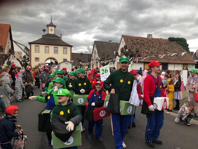 Helau! - Super Mario und seine Freunde