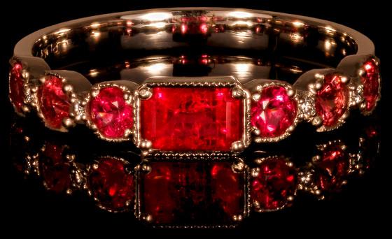 Origin of the Red Emerald