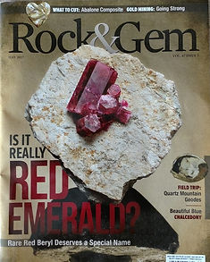 Rock & Gem Magazine - Bob Jones - May 2017