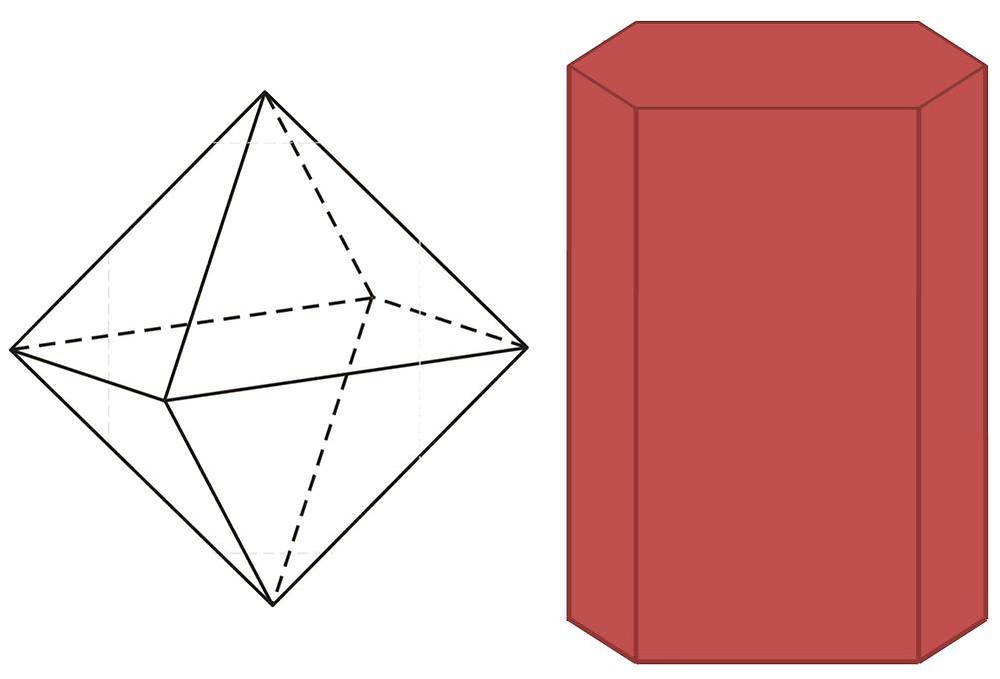 Pyramidal Octahedron with Hexagonal Prism