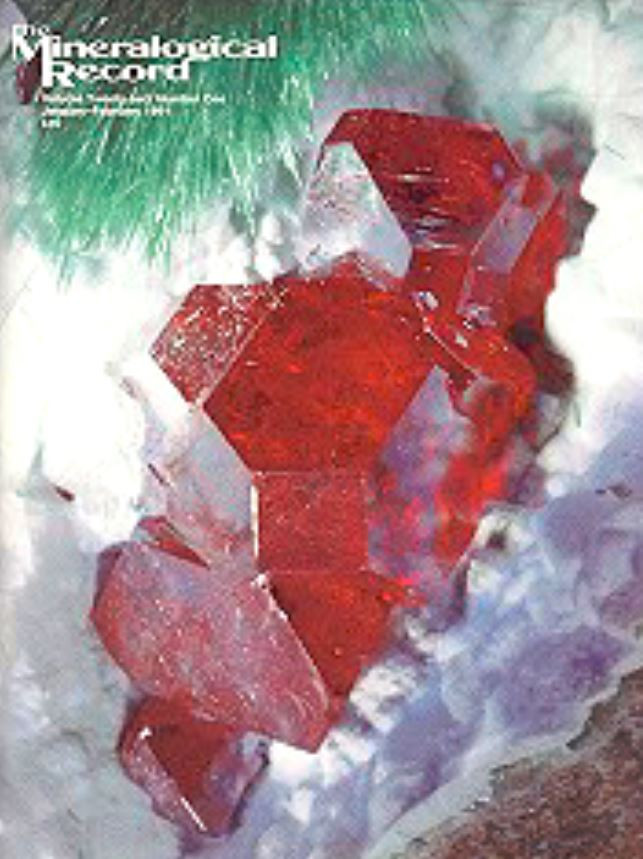 Mineralogical Record - February 1991 - What's New in Minerals by Wendell Wilson
