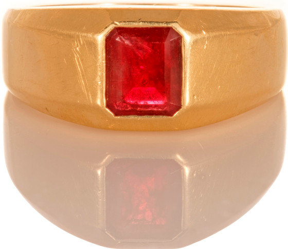 Red Spotlight On...My One Carat Ring