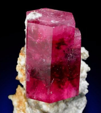 Ledge Modification in Red Beryl Mineral Specimen