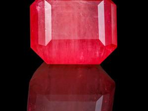 JOHN DYER-CUT UNENHANCED RED EMERALD