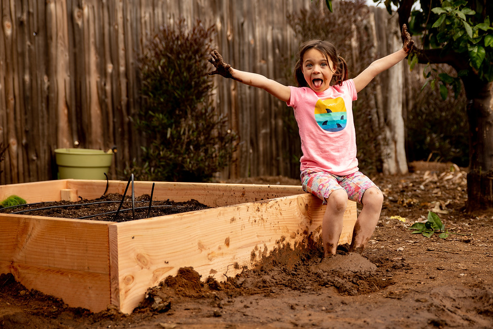 happy in the mud