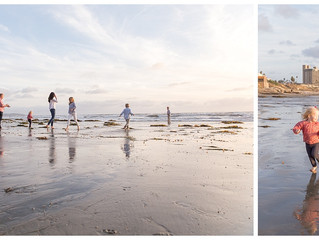 Tourmaline Beach Family Session