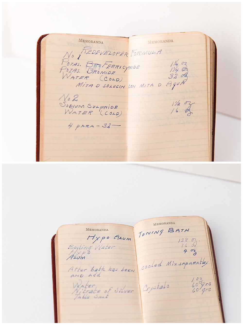 personal notebook