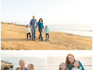 Sunset Cliffs Family Session