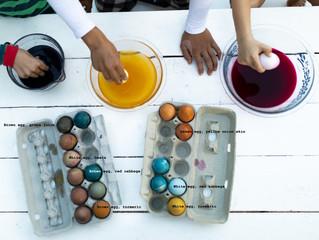 Using Natural Dye for Easter Eggs
