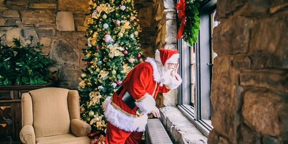 Sundaes with Santa
