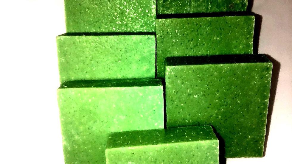 Green Tea Scrub.