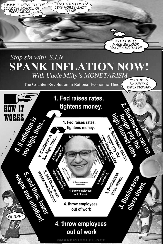 Milton Friedman stupid funny economics satire dumb idea