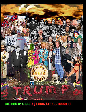 Trump Sgt. Pepper collage by Mark Linzee Rudolph