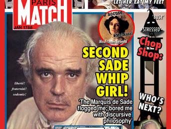 2nd Maid Accuses M. de Sade