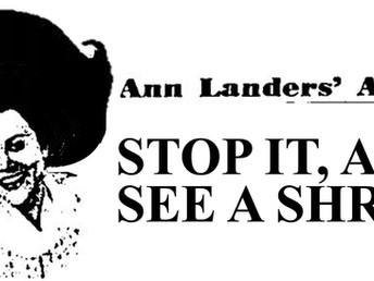 Ann Landers hated her sister, Dear Abby