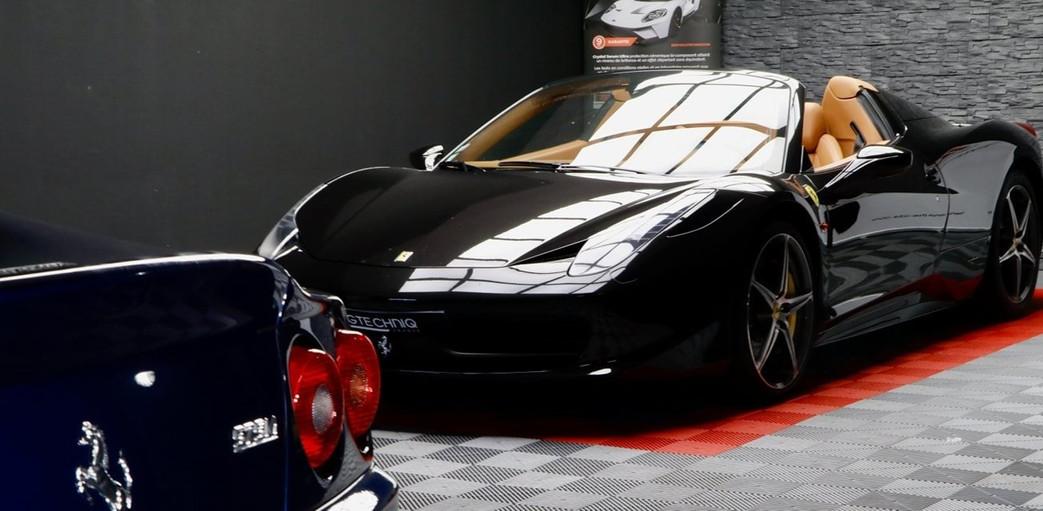 Ferrari 458 + Ferrari 575M F1