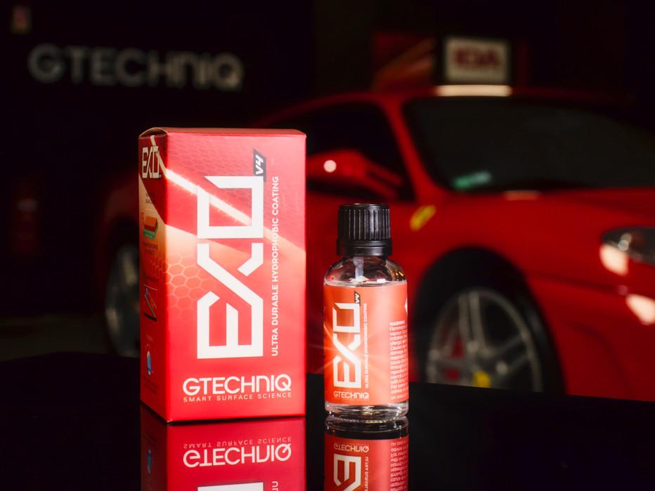 Gtechniq EXO sur Ferrari F430