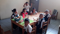 Breakfast at School for the DEAF