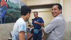 Team with Local Peruvians