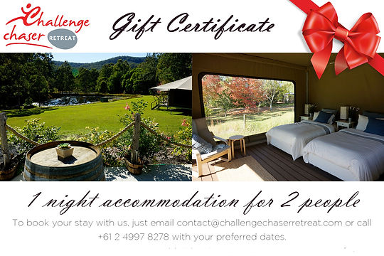 CCR gift certificate - date and promo co