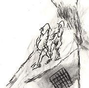 01_2013-033_Scènes_de_rue_-_fusain_sur_p